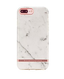 White Marble Case for iPhone 6/6s PLUS, 7 PLUS and 8 PLUS