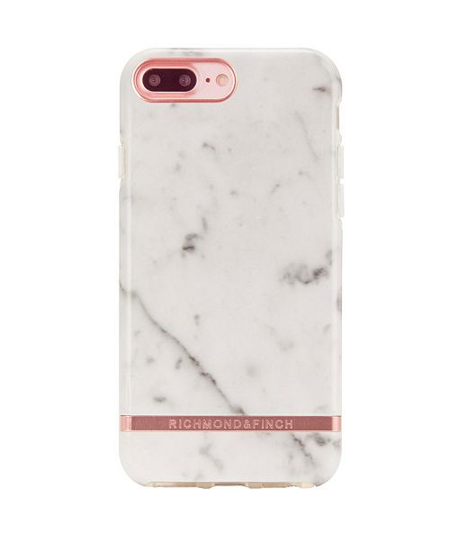 Richmond&Finch White Marble Case for iPhone 6/6s PLUS, 7 PLUS and 8 PLUS