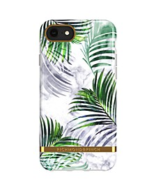 White Marble Tropics Case for iPhone 6/6s, 7 and 8