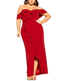 Trendy Plus Size Savannah Maxi Dress