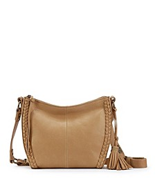 Silverlake Leather City Crossbody, Created for Macy's