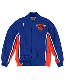 Men's New York Knicks Authentic Warm Up Jacket