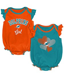 Baby Miami Dolphins Celebration Bodysuit Set