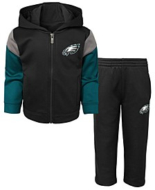 Toddlers Philadelphia Eagles Blocker Fleece Set