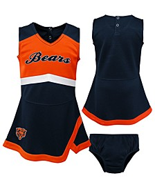 Toddlers Chicago Bears Cheer Dress