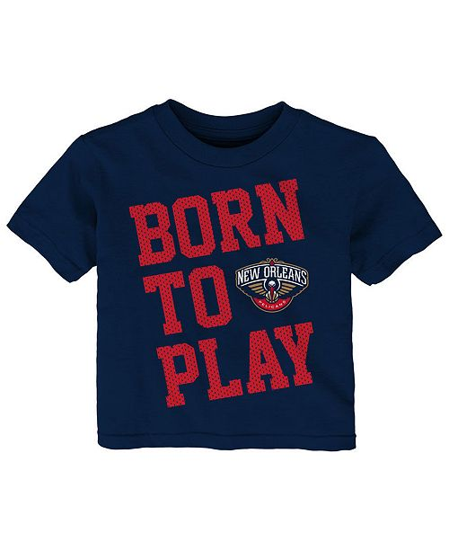 Outerstuff Baby New Orleans Pelicans Basic Logo T-Shirt