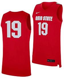 Men's Ohio State Buckeyes Replica Basketball Road Jersey