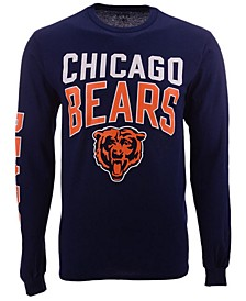 Men's Chicago Bears Zone Read Long Sleeve T-Shirt