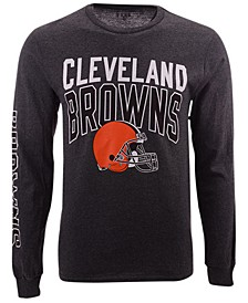 Men's Cleveland Browns Zone Read Long Sleeve T-Shirt