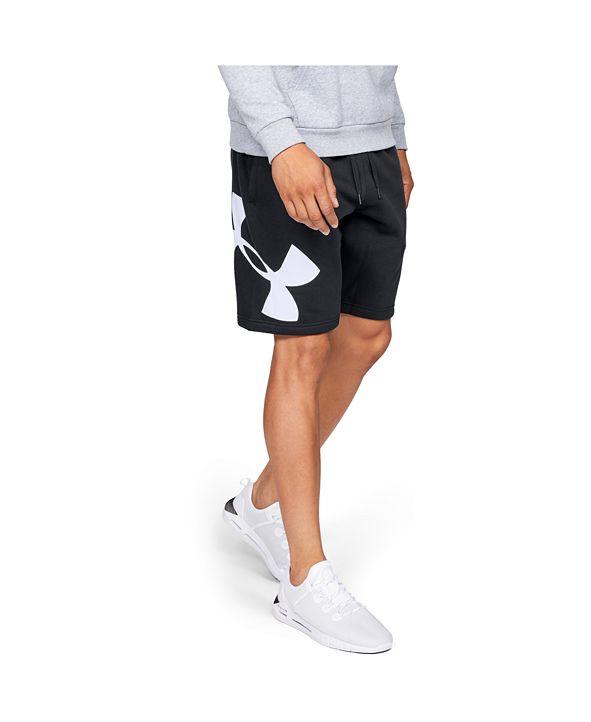 """Under Armour Men's Rival Fleece Logo 10"""" Shorts"""