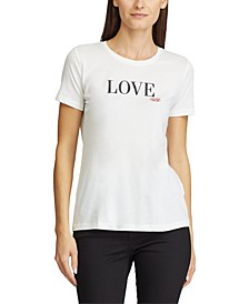 Short-Sleeve Love Top