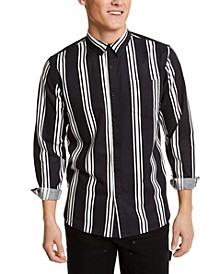 Men's Vertical Striped Shirt