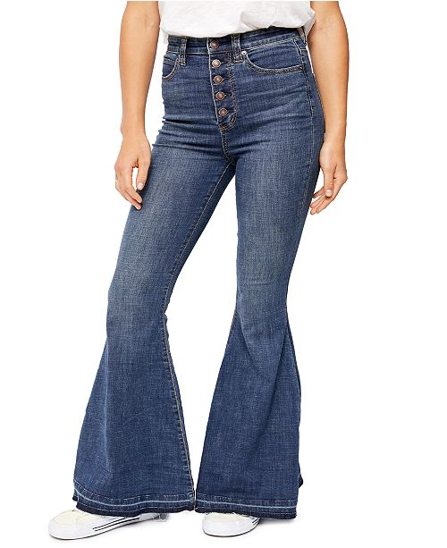Free People Irreplaceable Flare-Leg Jeans
