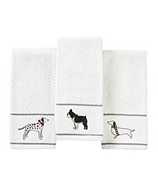 Fa La La Dogs Towel Collection