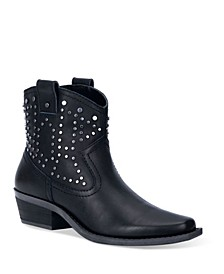 Women's Dusty Leather Bootie