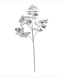 25in. Metallic Eucalyptus Artificial Plant Set of 24