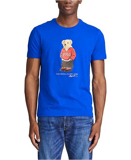 Polo Ralph Lauren Men's Custom Slim Fit Polo Bear T-Shirt