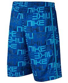 Big Boys Printed Basketball Shorts