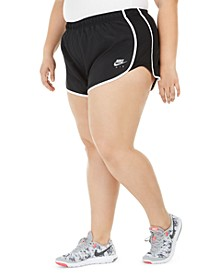 Plus Size Air Logo Shorts