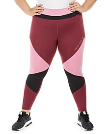 One Plus Size Dri-FIT Colorblocked 7/8 Tights