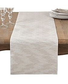 Metallic Woven Glam Table Runner