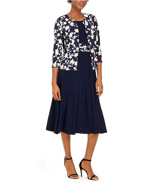 Jessica Howard Petite Floral Jacket & Dress