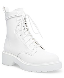 Women's Tornado Lace-Up Combat Boots