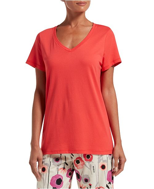 Hue Women's V-Neck Pajama T-Shirt