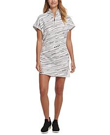 Sport Meteorite Logo-Print Dress