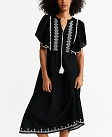 Plumeti Embroidered Dress
