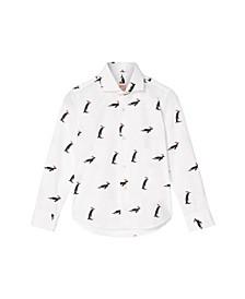 Toddler Boys Penguins Christmas Shirt