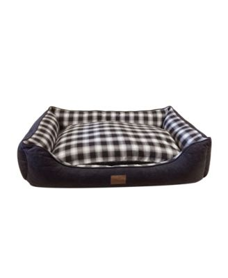 Plaid Kuddler Bed