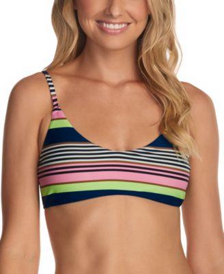 Juniors' Calafia Laguna Printed Bikini Top
