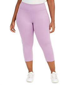 Plus Size Cropped Leggings