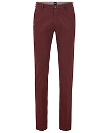 BOSS Men's Slim-Fit 3-D Chinos