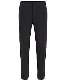 BOSS Men's Tapered-Fit Jogging Trousers