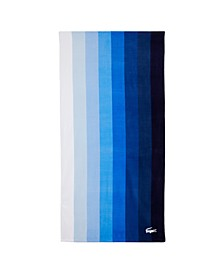 "Blue Waterfall Cotton 36"" X 72"" Beach Towel"