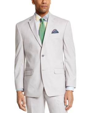 Sean John Men's Classic-fit Light Gray Suit Separate Jacket In Grey
