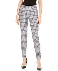 Checkered Leggings, Regular & Petite
