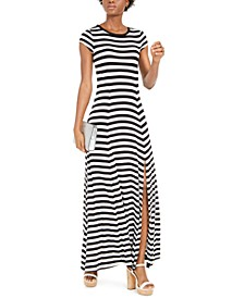 Striped Maxi Dress, Regular & Petite Sizes