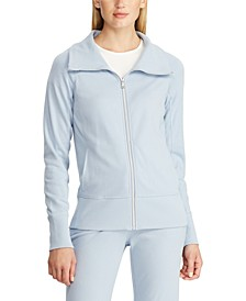 Cotton Full-Zip Jacket