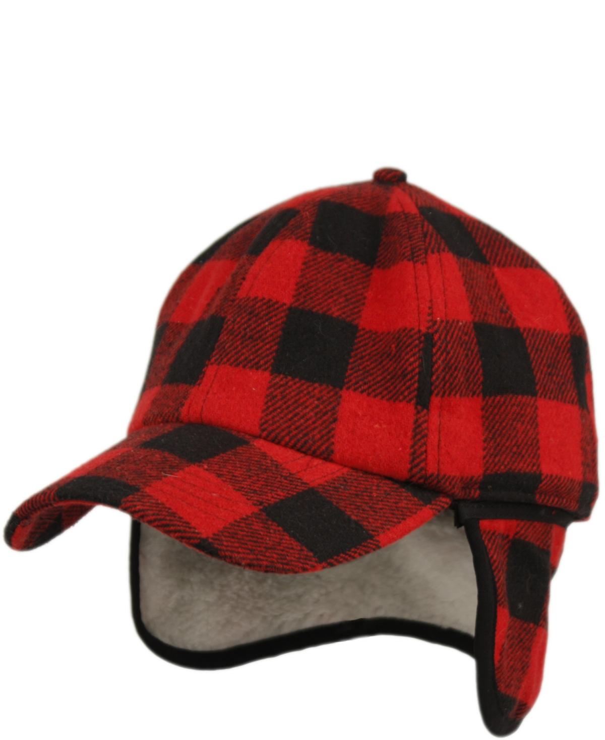 Epoch Hats Company Wool Blend Earflap Cap with Sherpa Lining