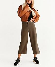 Button Front Culottes