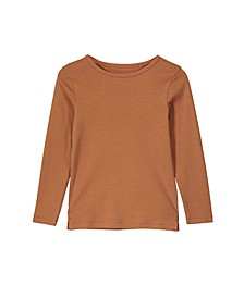 Little, Big and Toddler Girl's Jessie Crew Long sleeve Tee