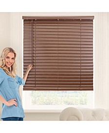 "Cordless 2"" Vinyl Blinds, Horizontal Venetian Slat Window Shade"