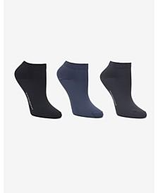 Soft Microfiber 3 Pc Low Cut Dress Sock