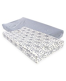 Baby Boy and Girl Organic Changing Pad Cover, 2 Pack