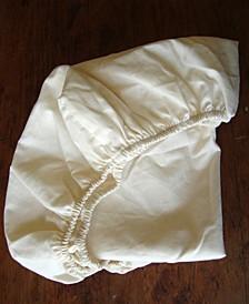 Organic Cotton Sateen Bassinet Fitted Sheet