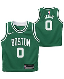 Little Boys Jayson Tatum Boston Celtics Icon Replica Jersey