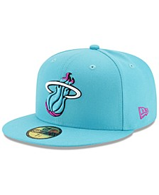 Miami Heat City Series 59FIFTY Fitted Cap